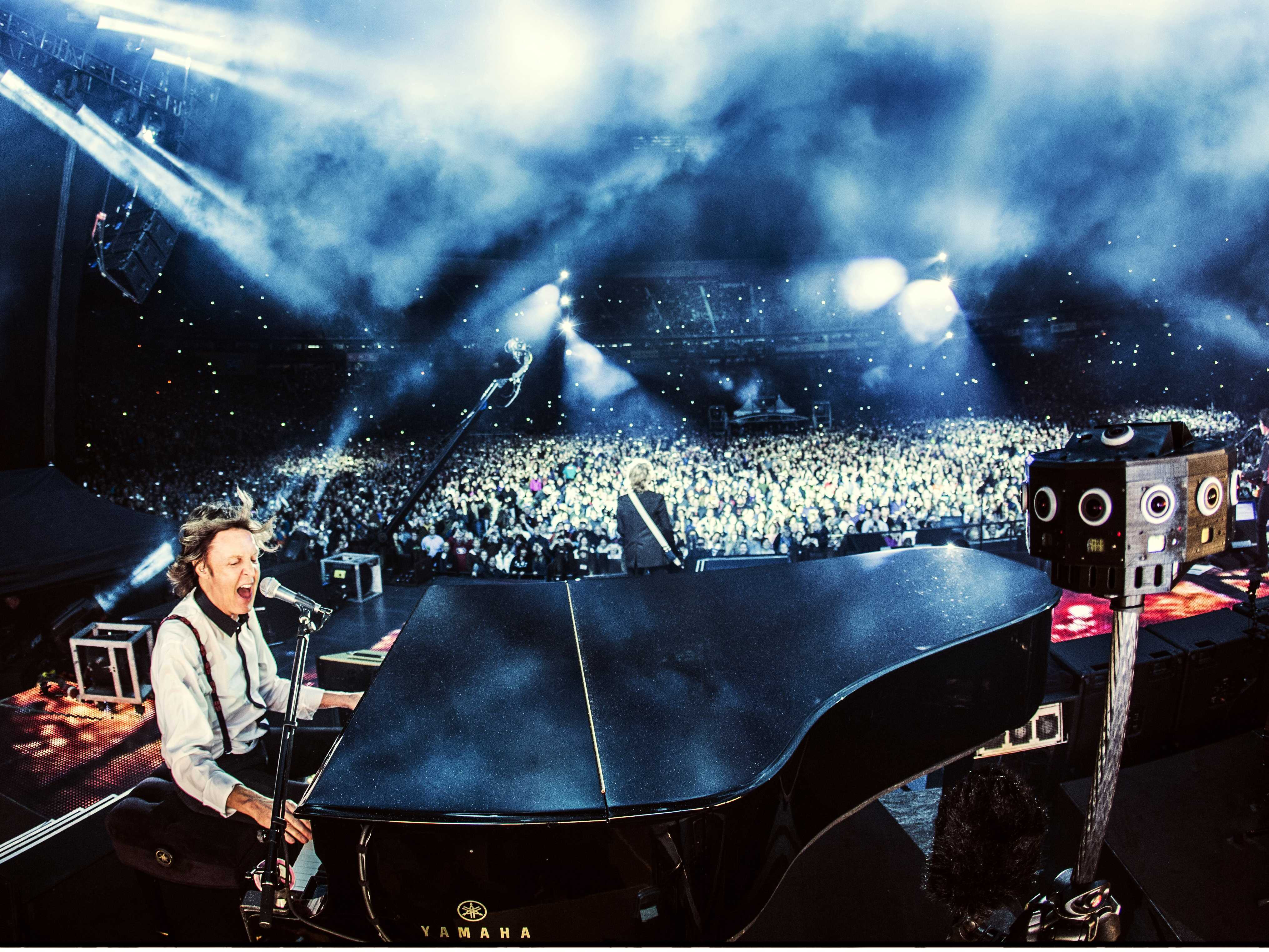 Concerts – virtual reality