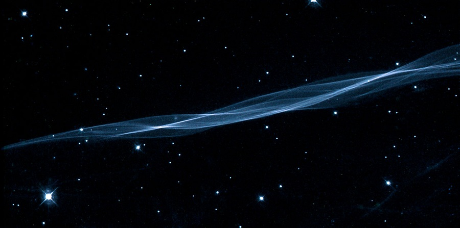 A small portion of the Cygnus Loop nebula.