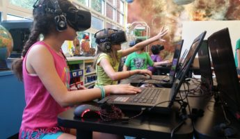 Education virtual reality 345x200 15 Exciting Ways Virtual Reality is Being Used Right Now