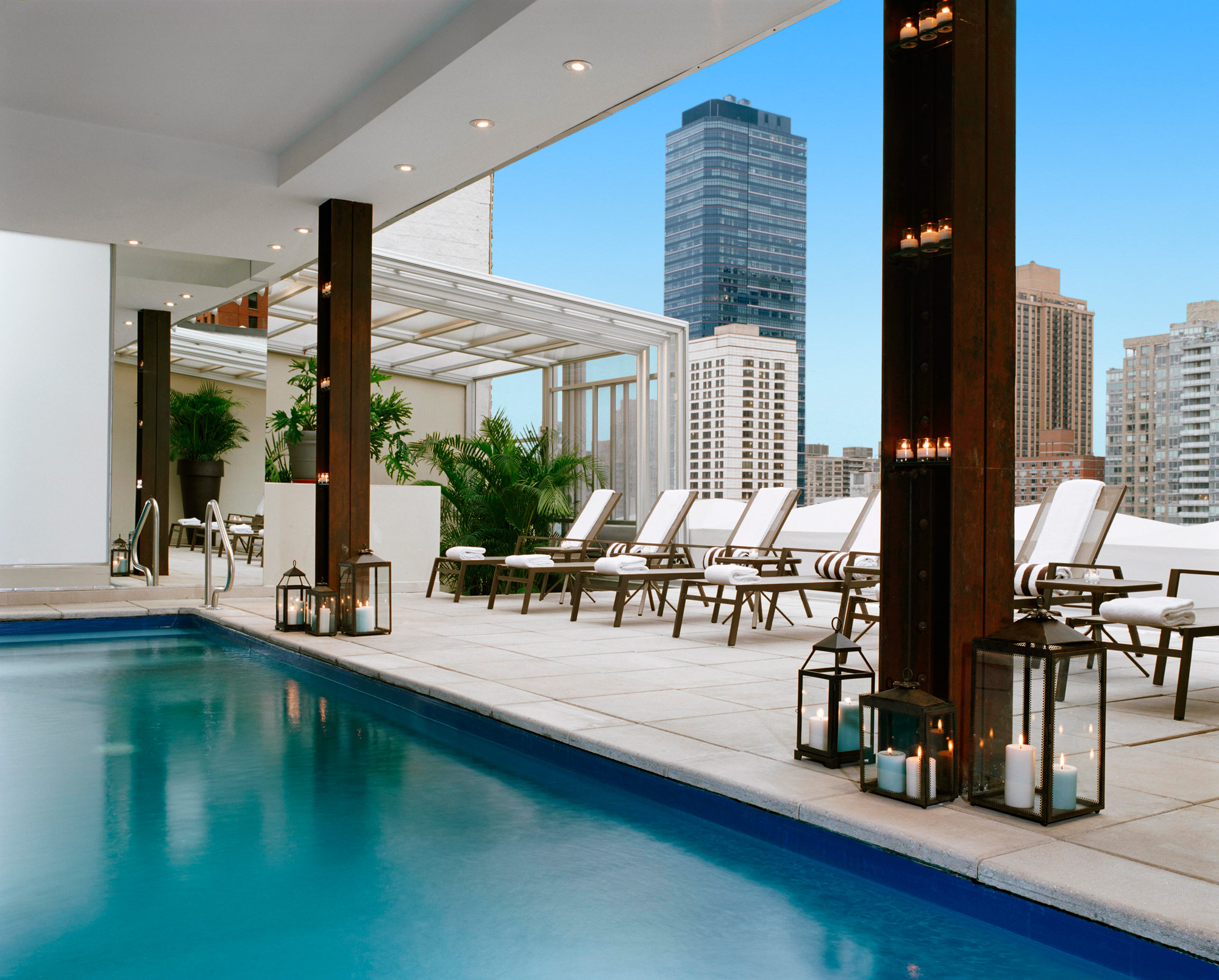 Empire Hotel's Pool Deck – rooftop nyc