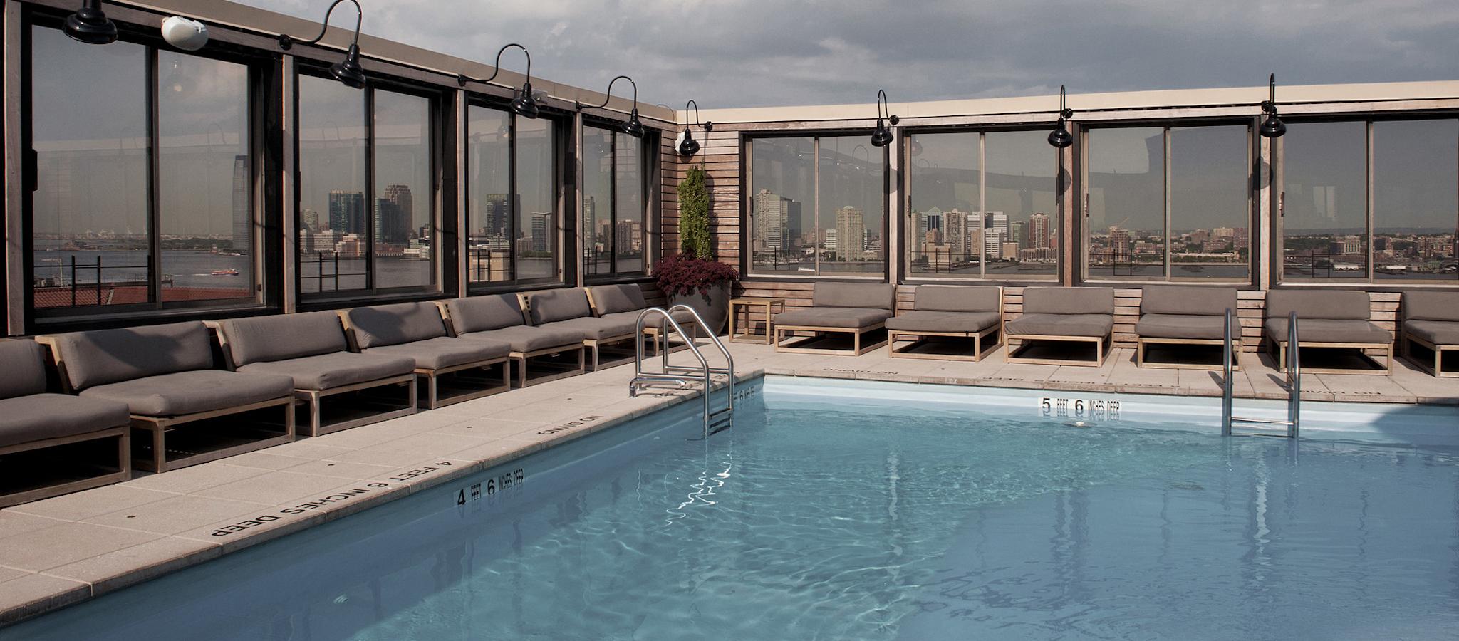 Equinox Printing House – rooftop pool nyc