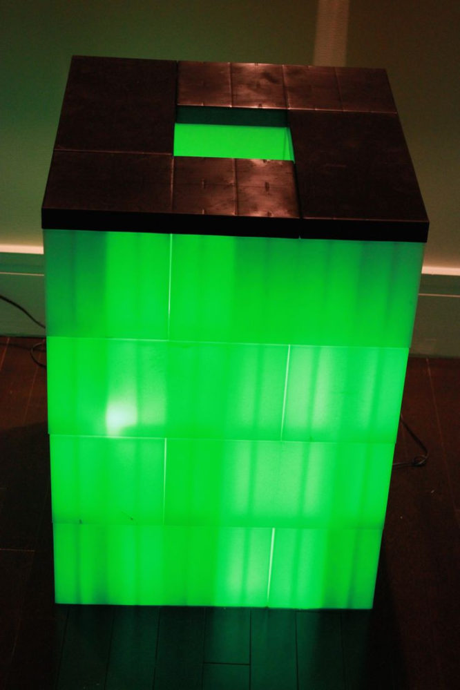 EverBlock Lighted Table - giant legos