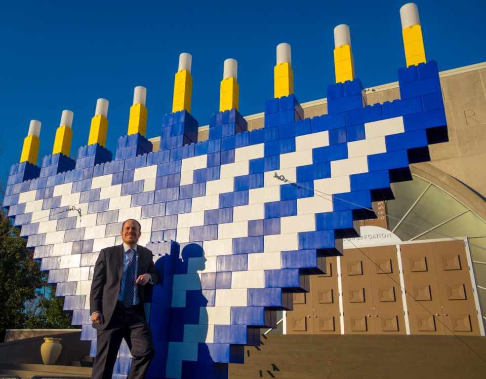 EverBlock Menorah - giant legos