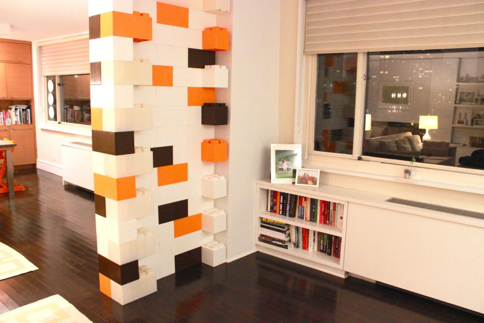 EverBlock Room Divider - giant lego