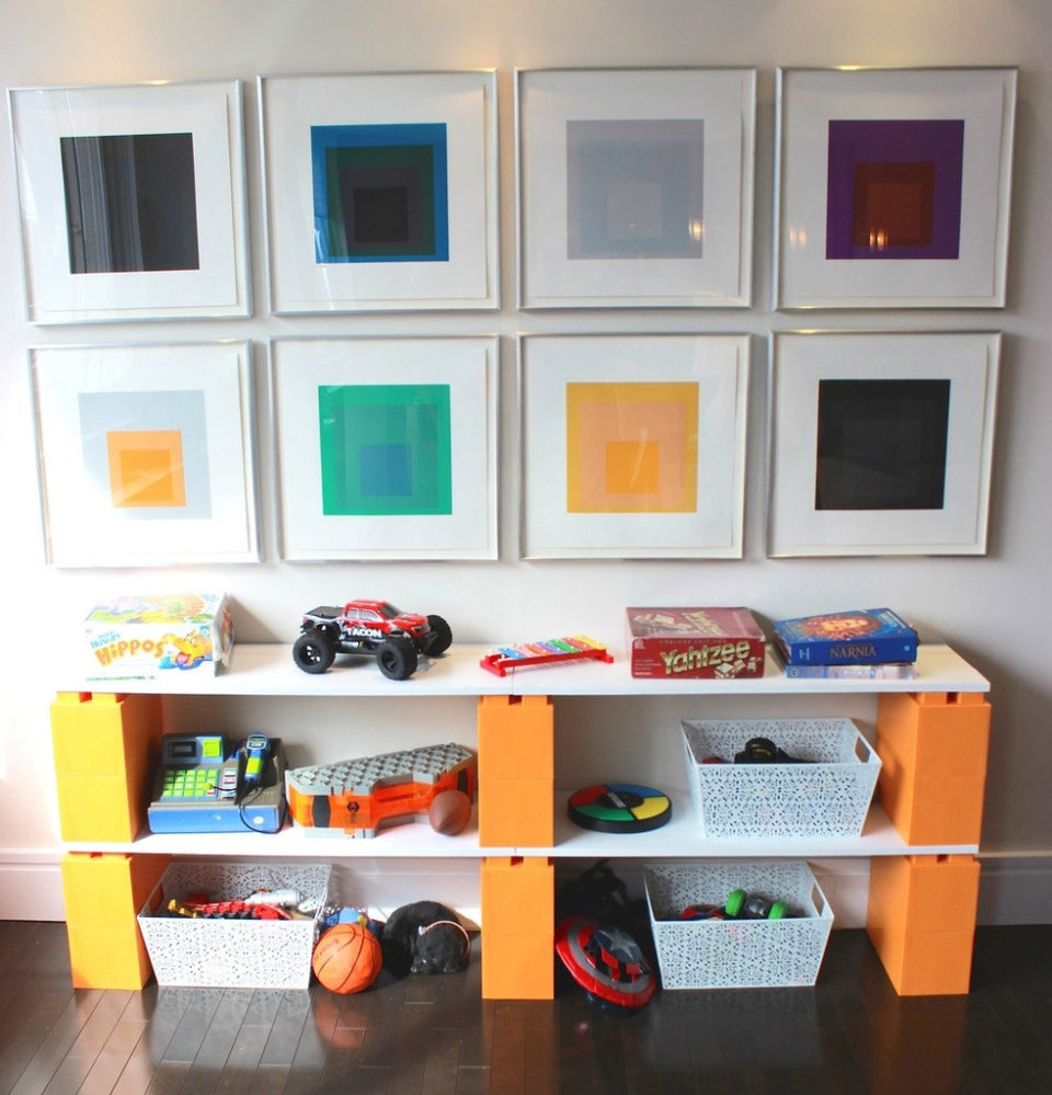 EverBlock Shelves - giant lego
