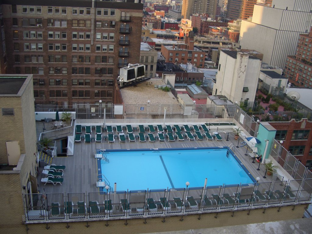 Holiday Inn Midtown – rooftop pool nyc