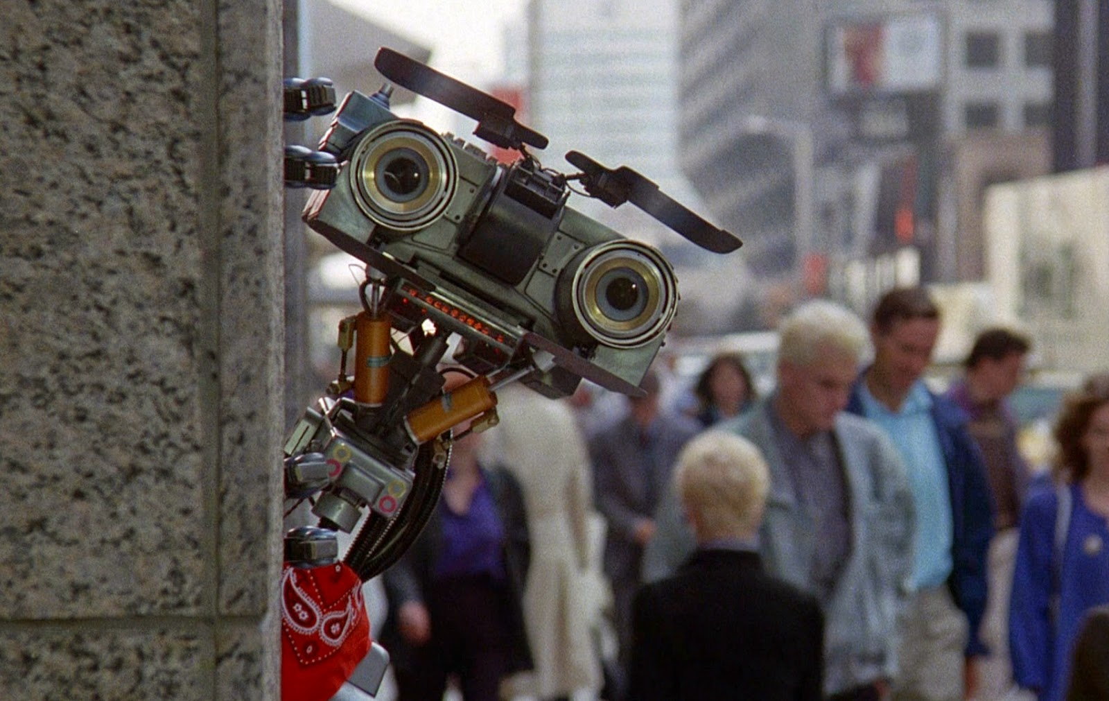 Johnny 5 – famous robot