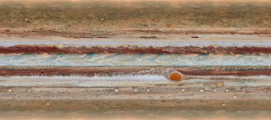 Jupiter's atmosphere.