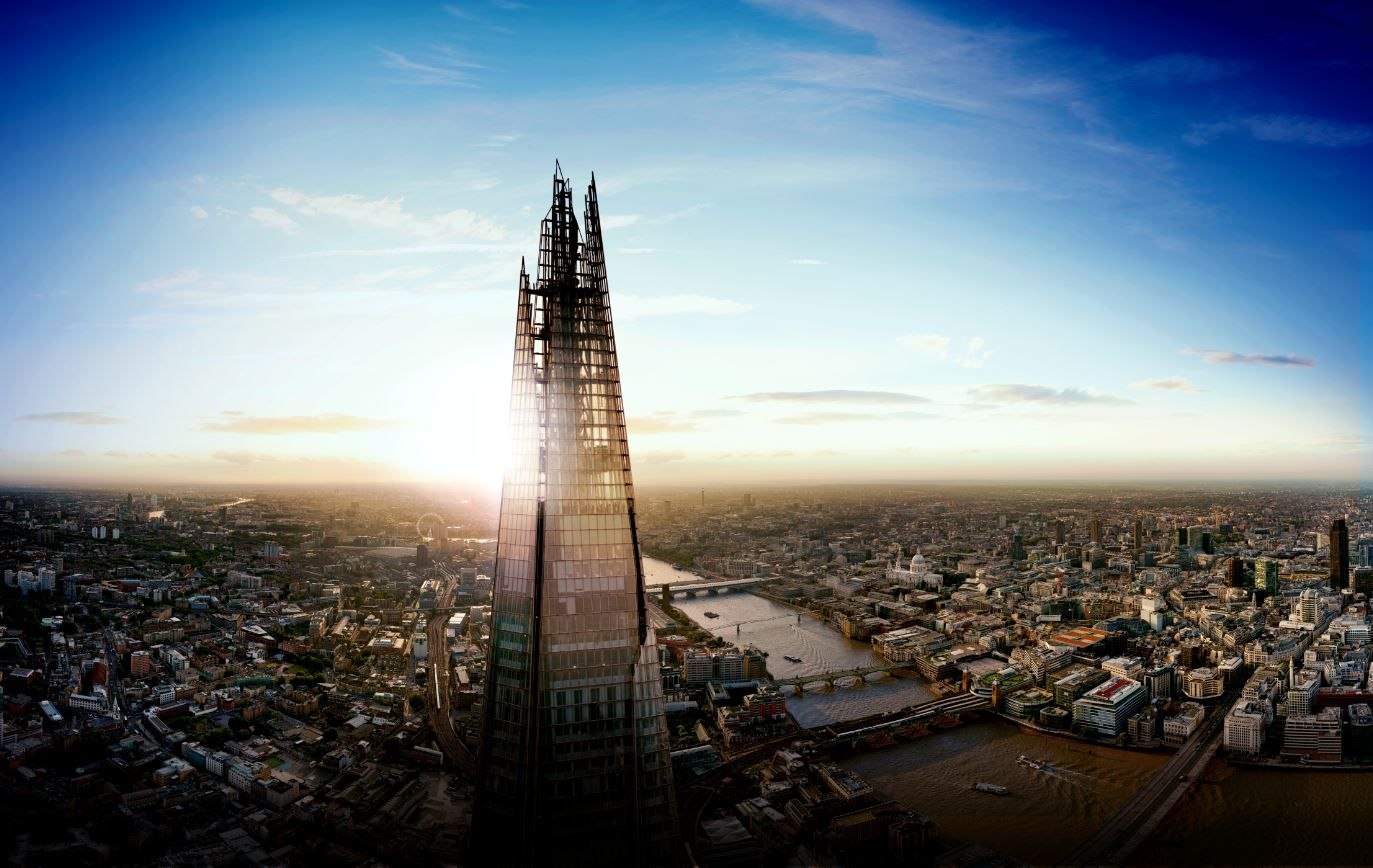 London Rare Rooftop View from The Shard