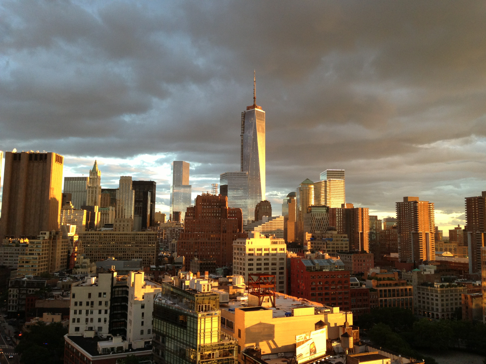 Lower Manhattan – rare rooftop view