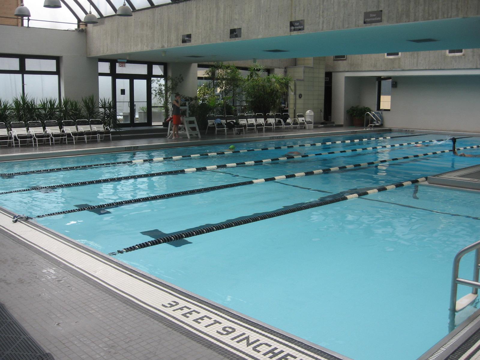 Manhattan Plaza Health Club – rooftop pool nyc