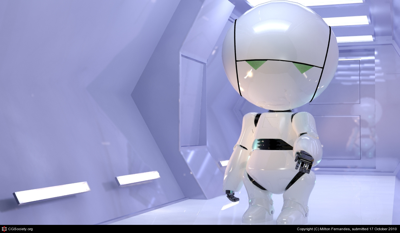 Marvin the Paranoid Android – famous robot