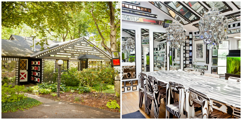 Mirrored House – weird airbnb rental