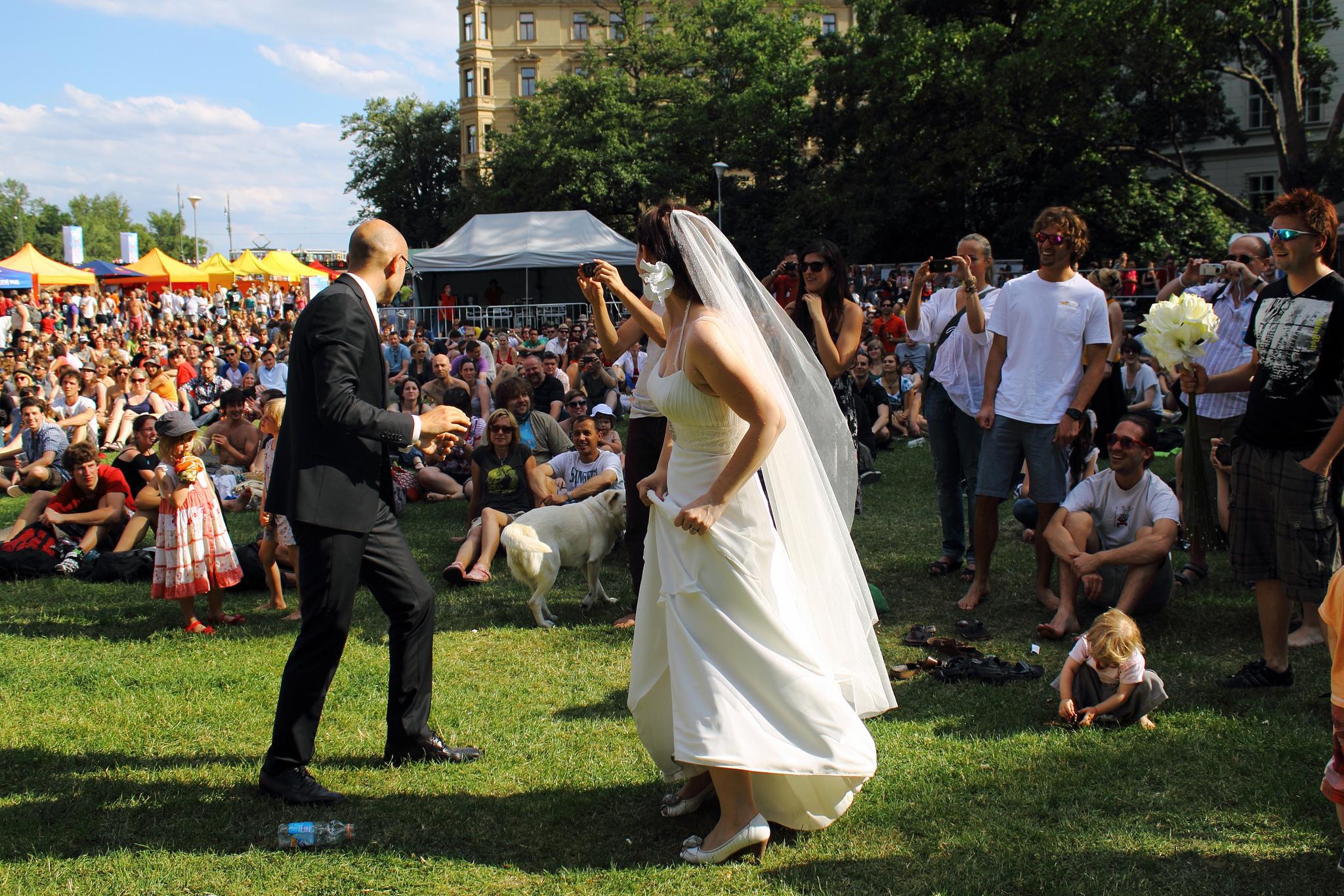 Music Festival – wedding venue