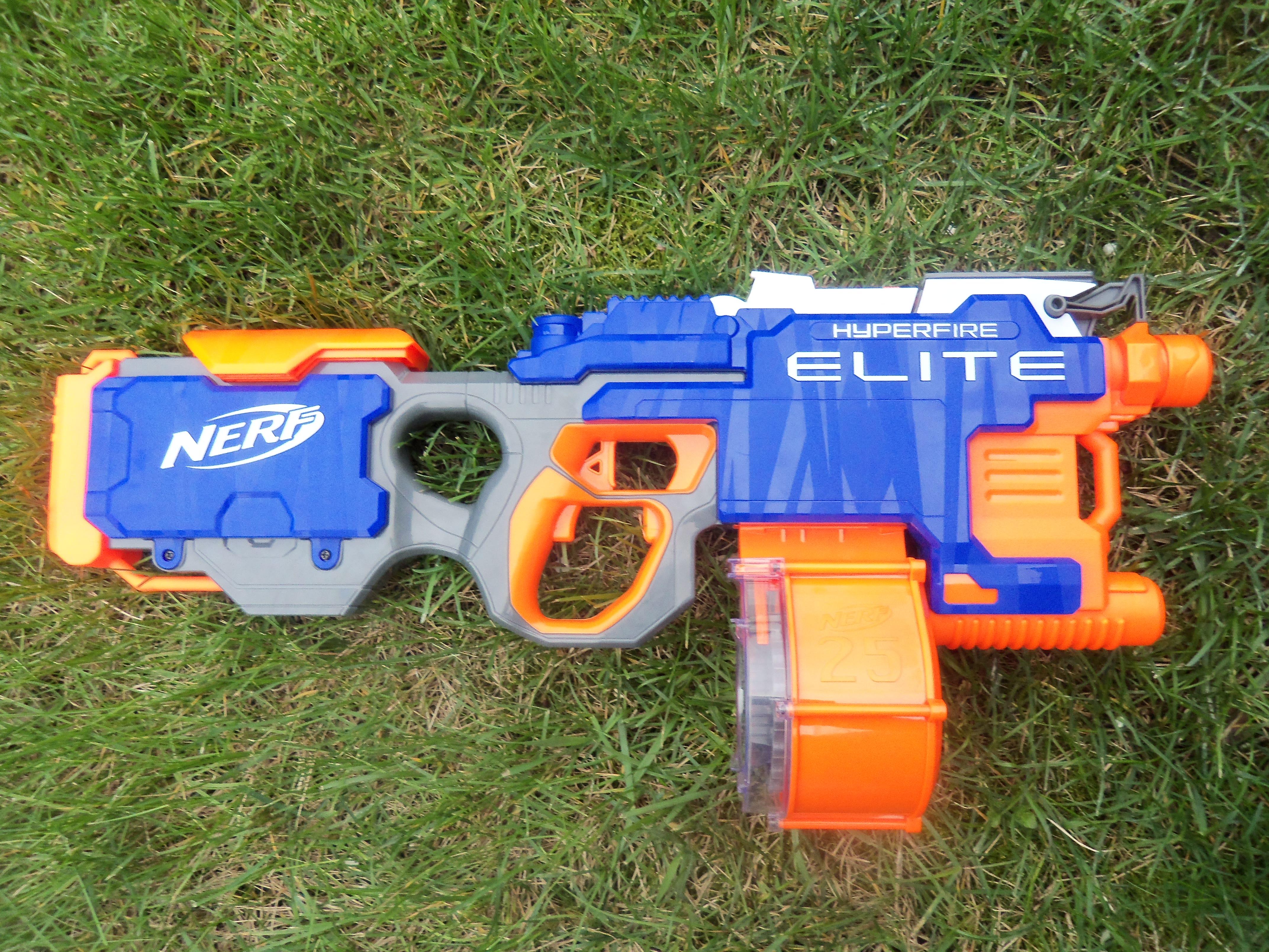N-Strike Elite Hyper-Fire Blaster – nerf gun