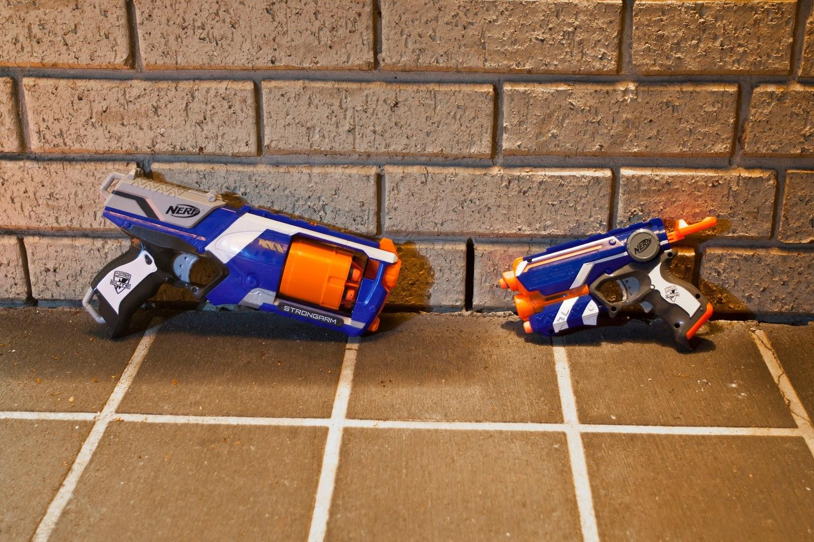 N-Strike Elite Strongarm Firestrike Blasters – nerf gun