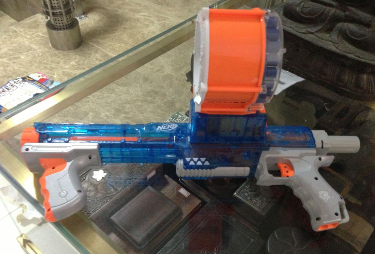 NStrike Elite Rampage Sonic Ice Series Blaster – nerf gun