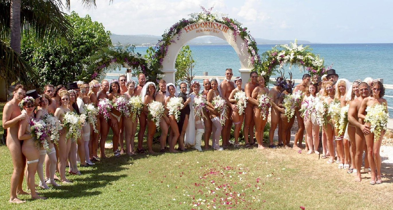 Nudist Colony – wedding venue