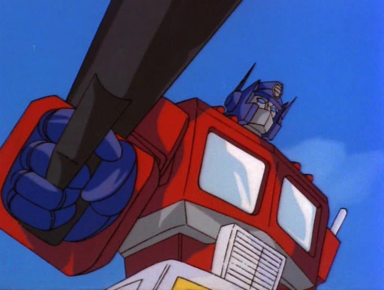 Optimus Prime – famous robot