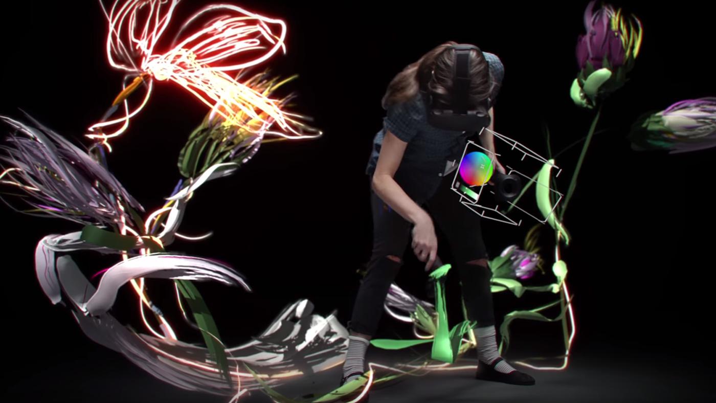 Painting – virtual reality