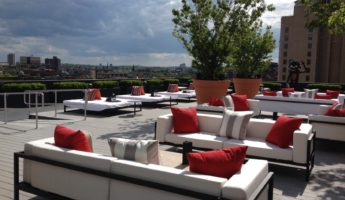 Revere Hotel Roofdeck rooftop bar boston 345x200 Celtic Pride: Bostons 17 Most Wicked Rooftop Bars