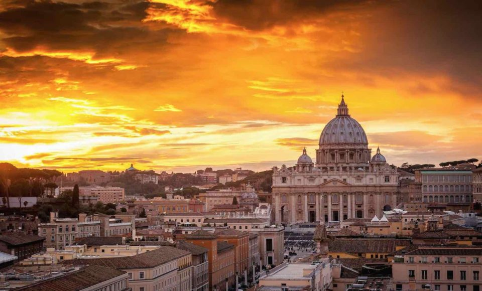 Rome - rare rooftop view