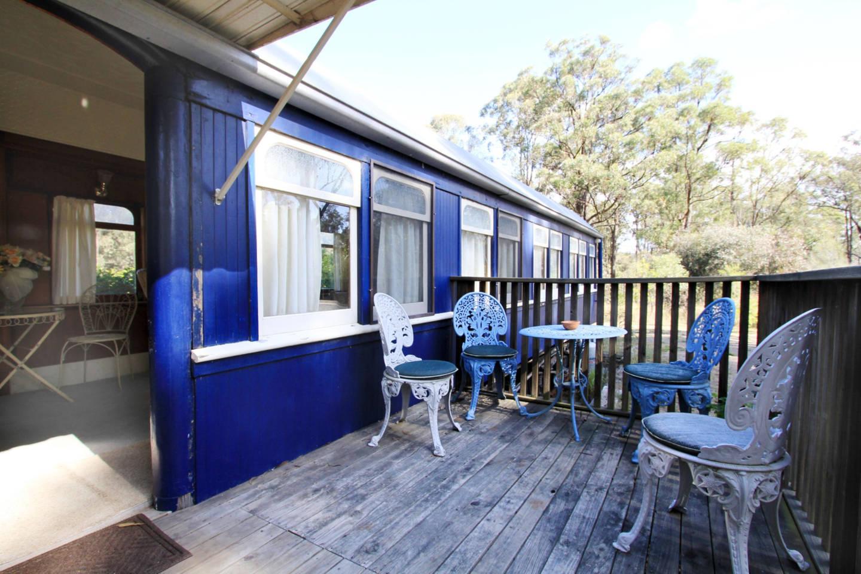 Royal train carriage Pokolbin – weird airbnb rental