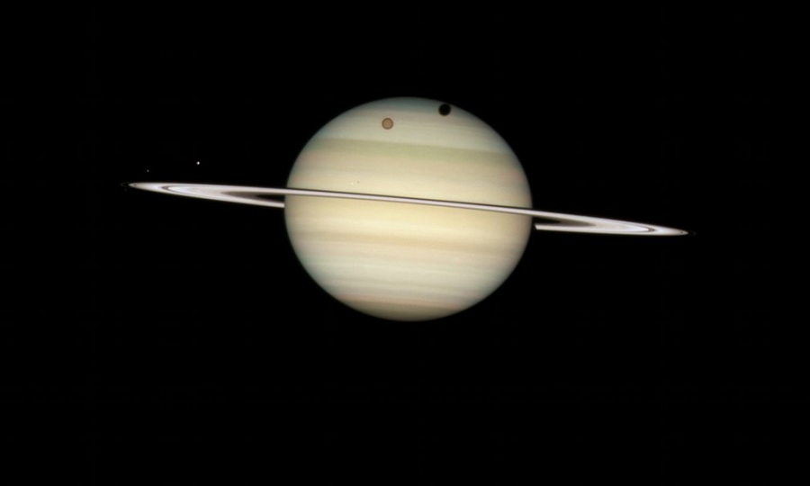 Saturn-Moons-Hubble-The-Coolist
