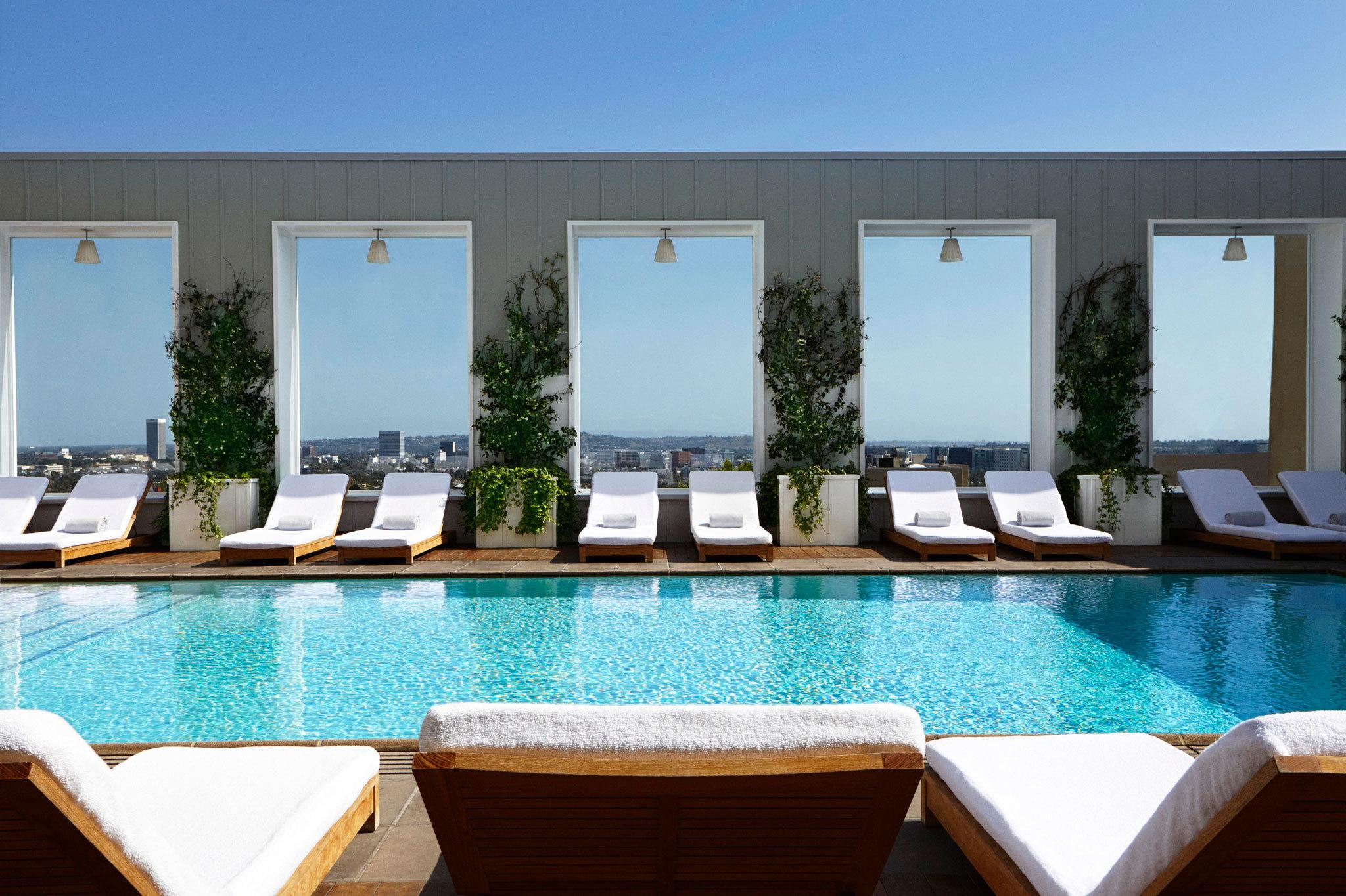 Skybar at the Mondrian – rooftop bar los angeles