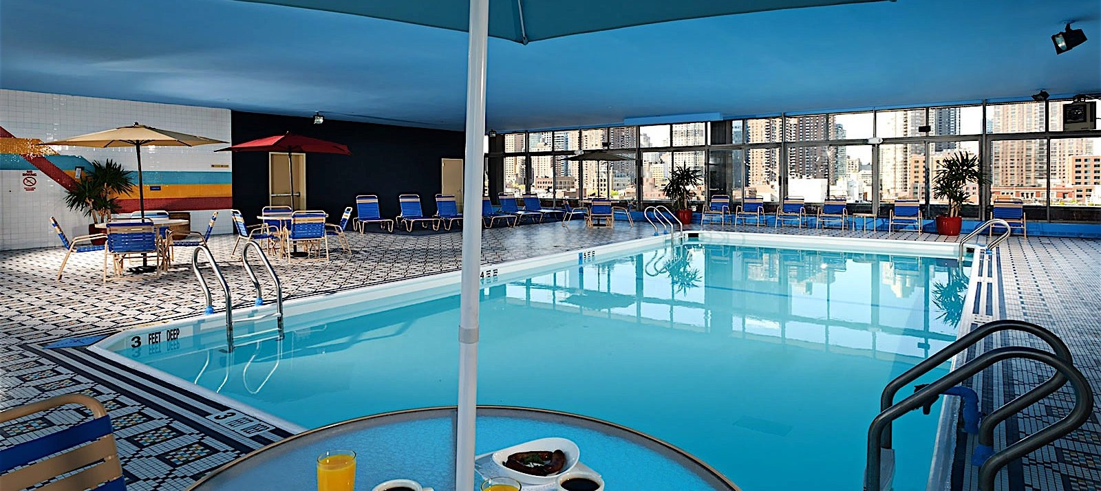 Skyline Hotel – rooftop pool nyc
