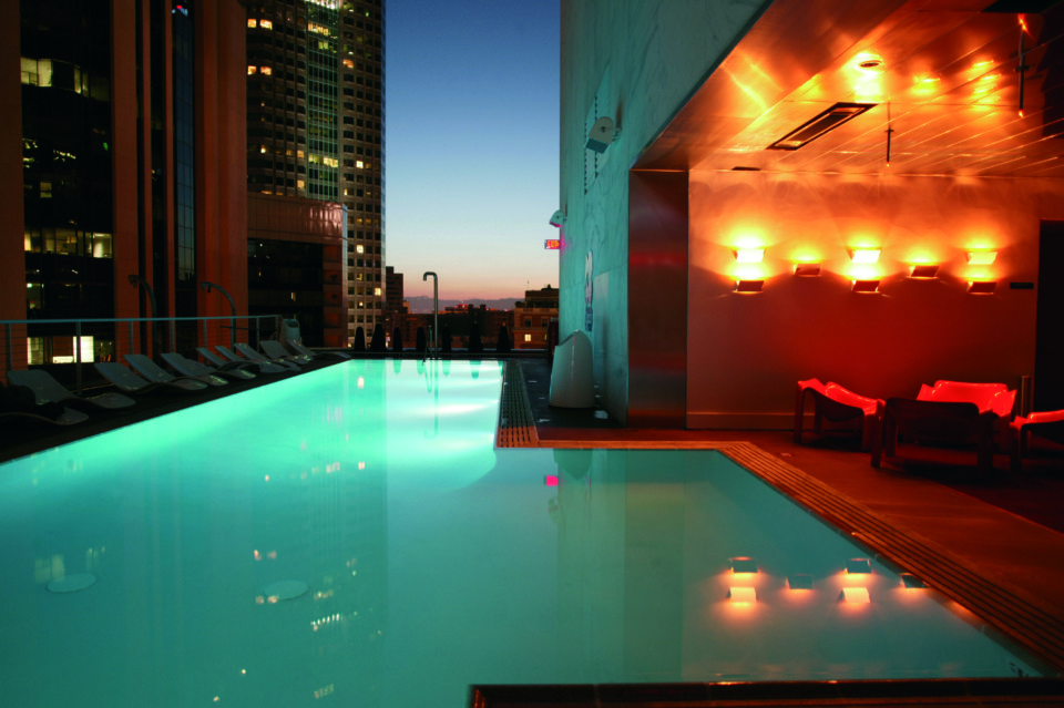 Above the smog 17 best rooftop bars in los angeles - Best hotel swimming pools in california ...