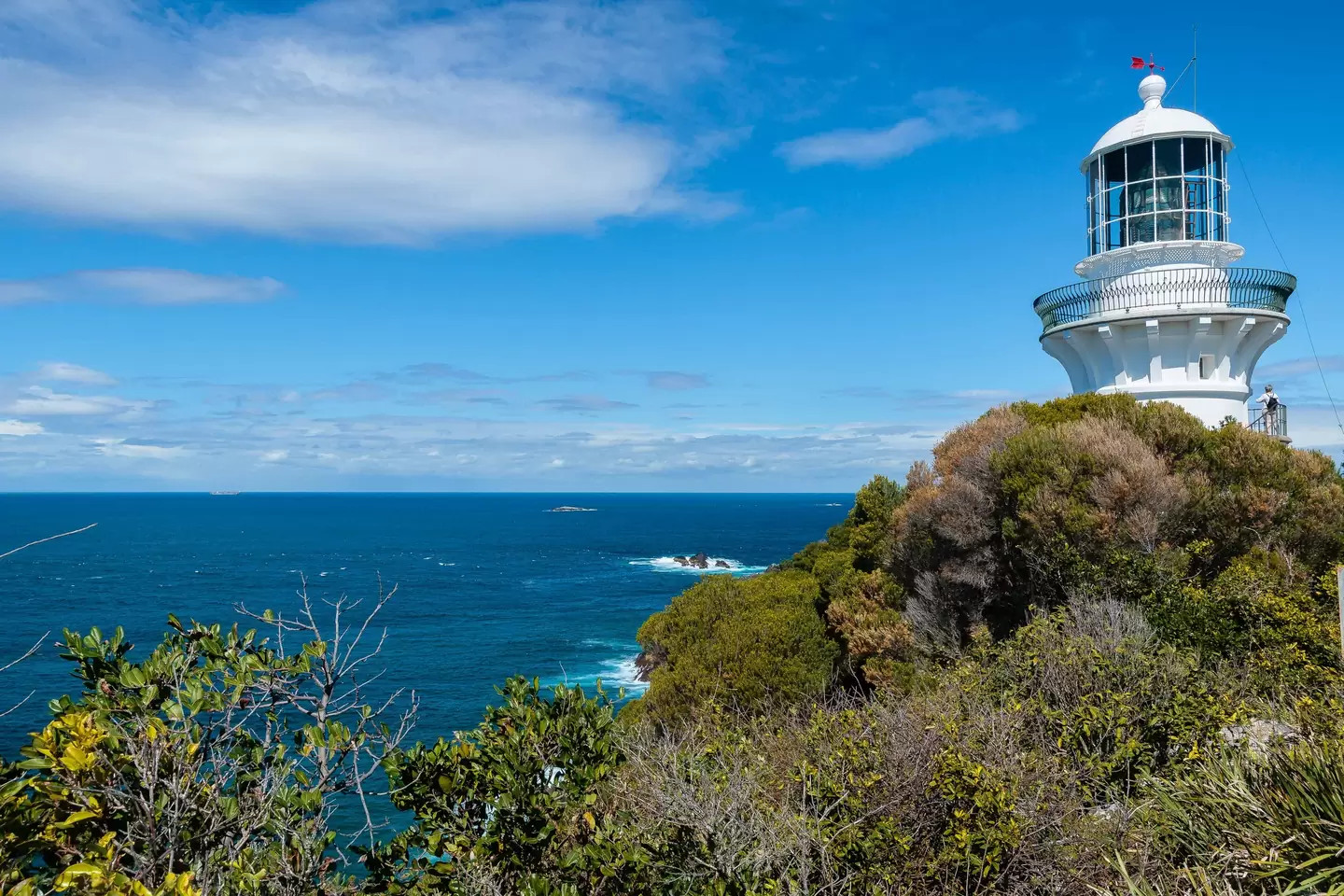 Sugarloaf Point Lighthouse – weird airbnb rental