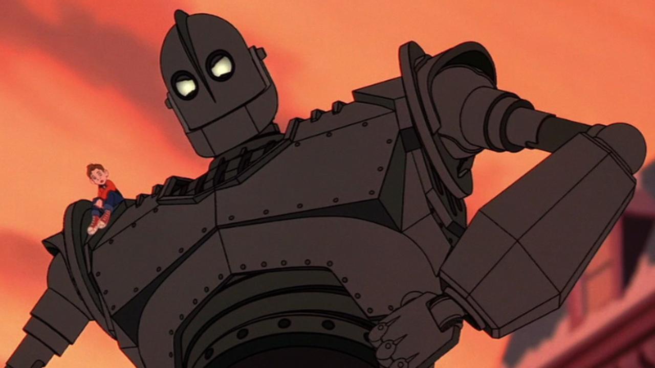 The Iron Giant – famous robot