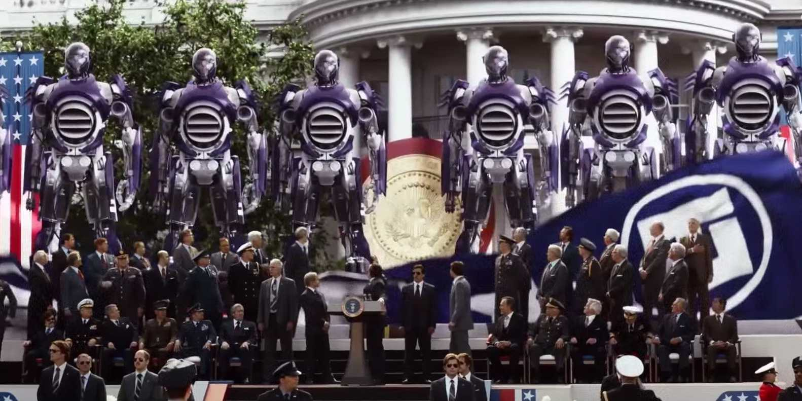 The Sentinels – famous robot