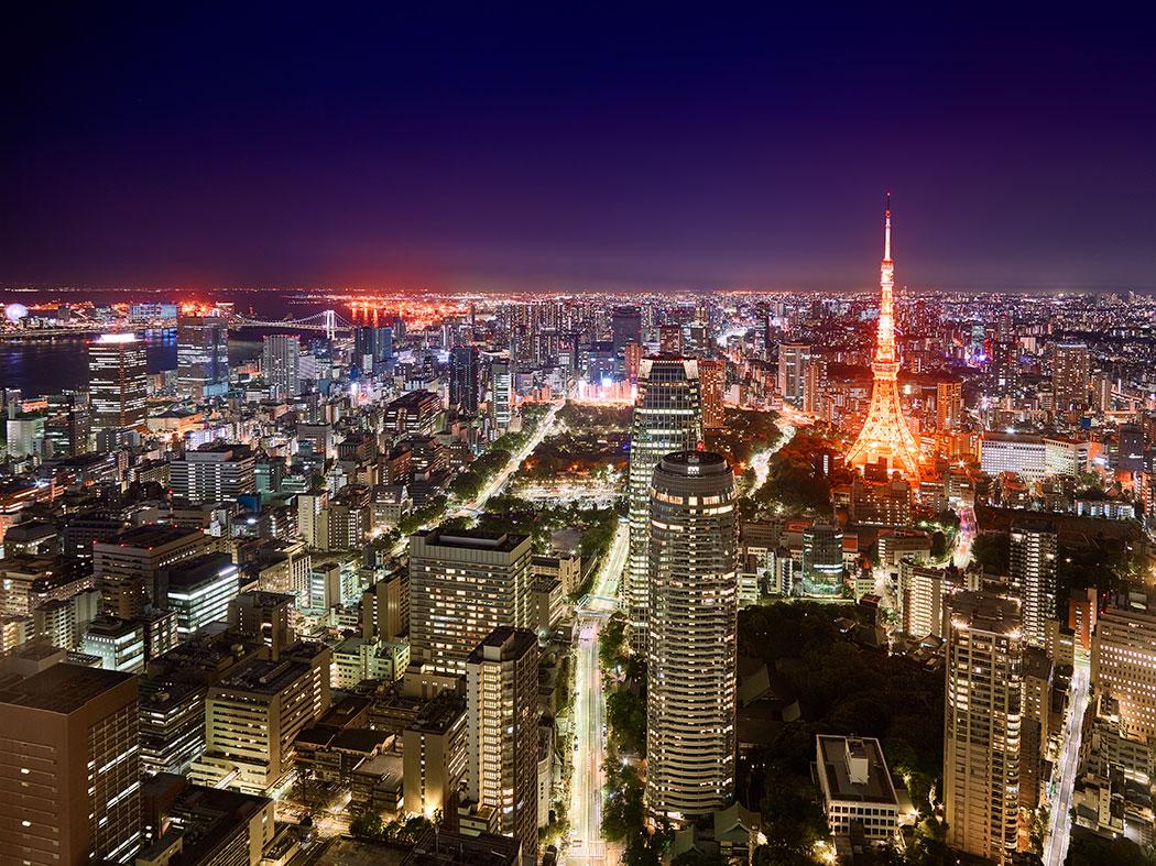 Tokyo Japan – rare rooftop view
