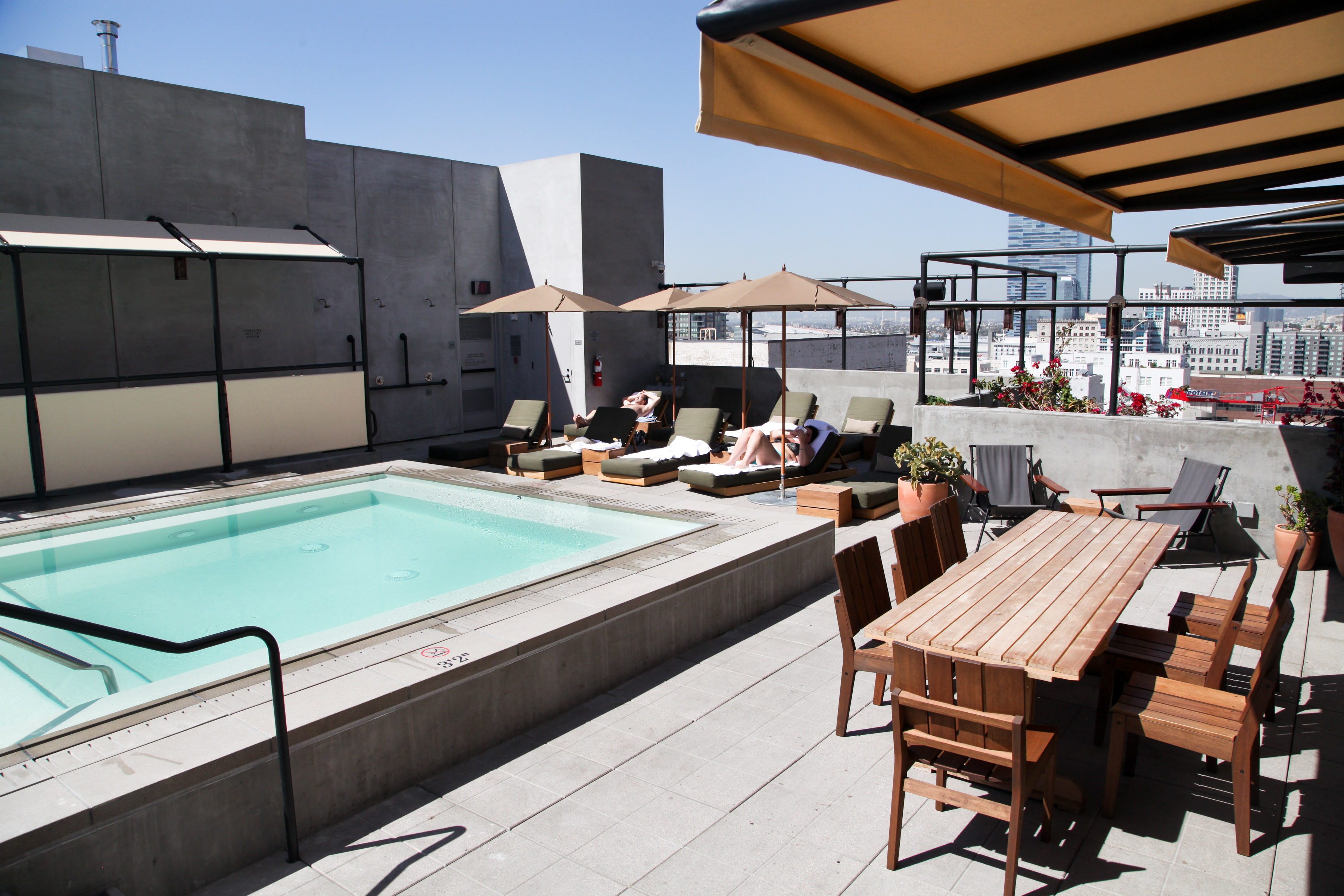 Upstairs Ace Hotel – rooftop bar los angeles