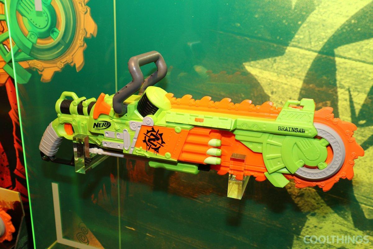 Zombie Brainsaw – nerf gun
