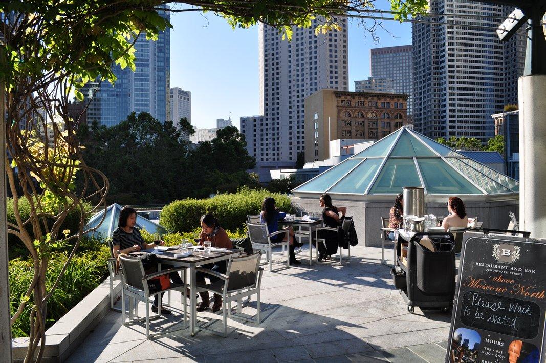 B Restaurant & Bar – san francisco rooftop bar