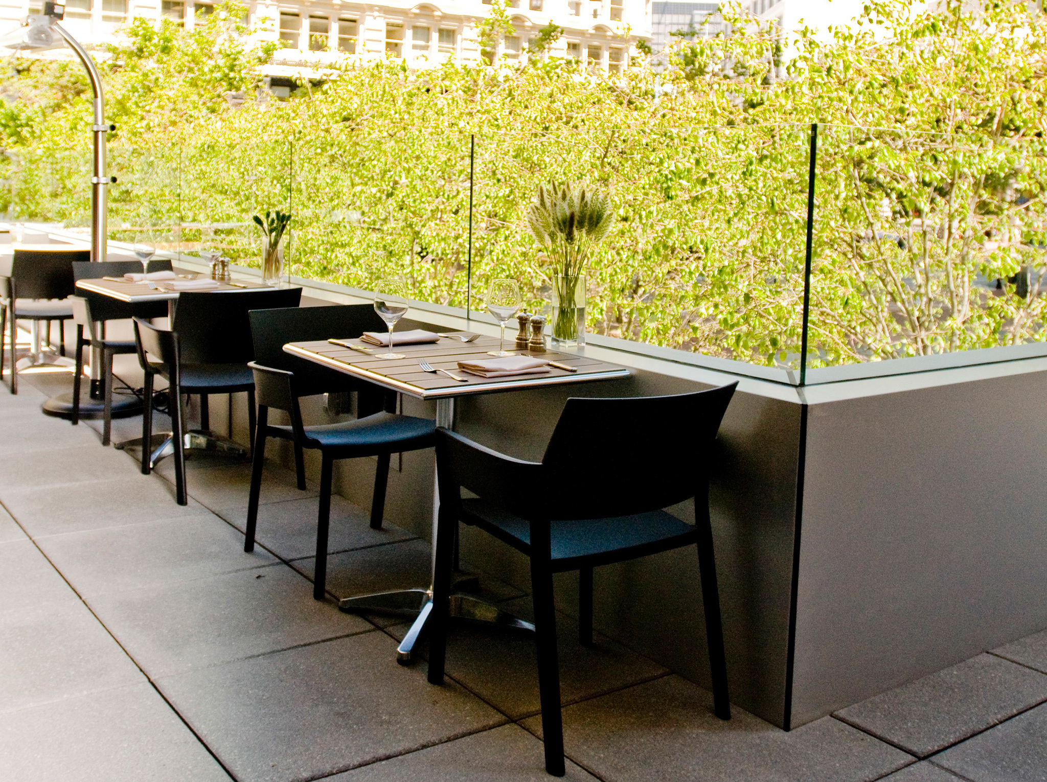 Bluestem Brasserie – rooftop bar san francisco