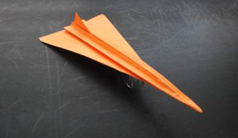 Concorde paper airplane 345x200 Fly Right with 16 of the Best Paper Airplane Designs