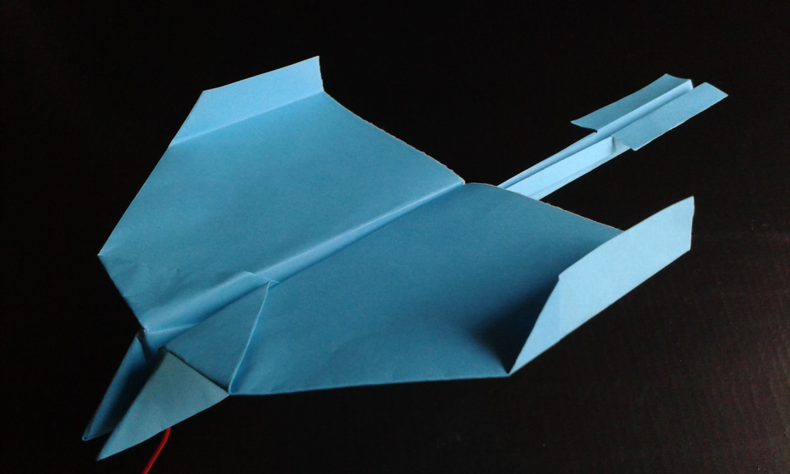 DC-3 Swallow – paper airplane