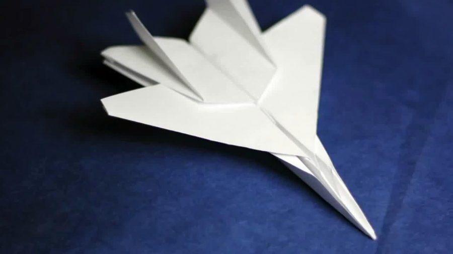 F-15 Eagle – paper airplane