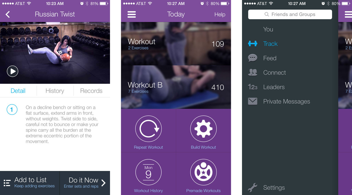 Fitocracy – iPhone app