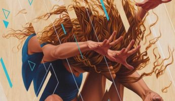 "Painter James Bullough Explores Movement and the Human Psyche Through Fragmented Series ""Breaking Point"""