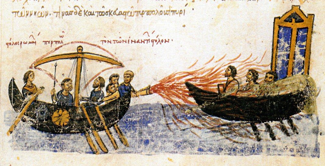 Greek Fire – weapon of history