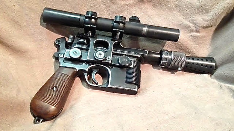 Han Solo Blaster – star wars prop to buy
