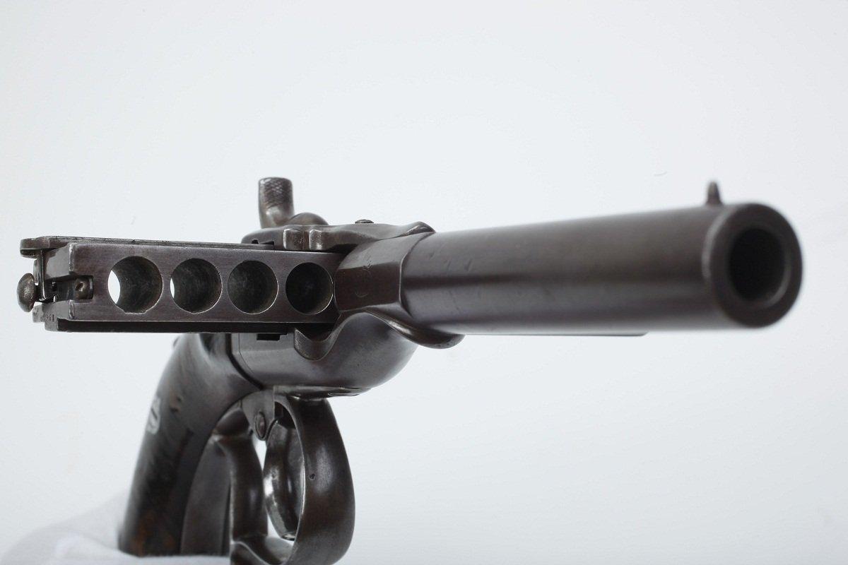 Harmonica gun – weapon of history