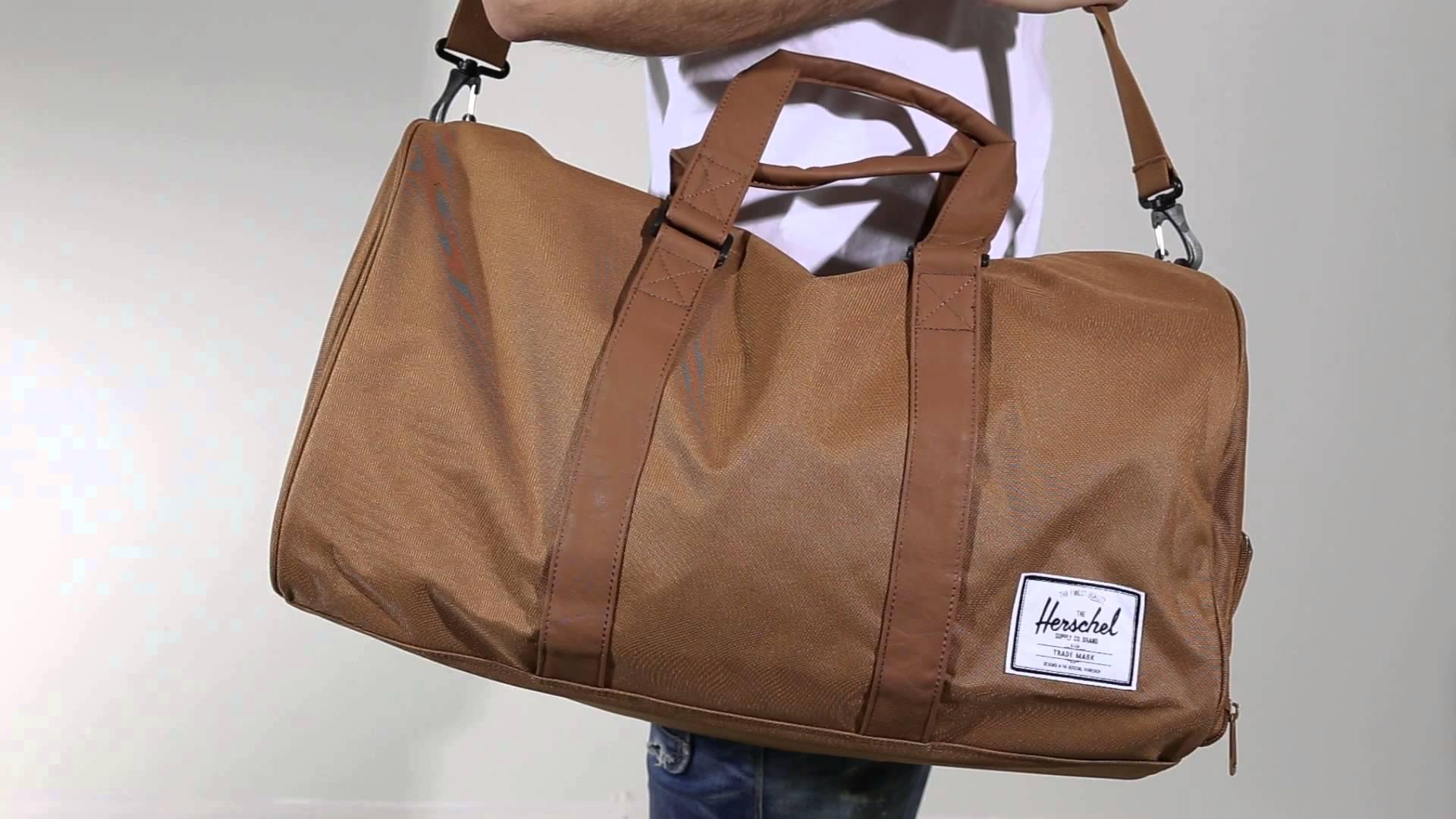 Herschel Novel Duffle – gym bag for men
