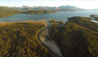 Lake Iliamna Salmon Migration drone footage 345x200 Drone Art: 20 Most Amazing Video Footages from Above