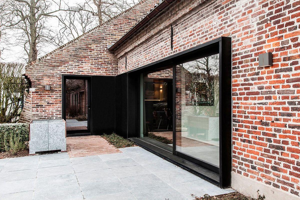 Modern sliding patio doors